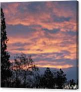 Perrydale Sunrise Canvas Print