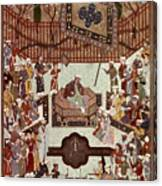 Persian Miniature, 1567 Canvas Print