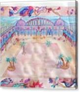 Persian Palace Canvas Print
