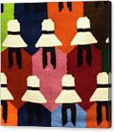 Peru Hat Tapestry Canvas Print