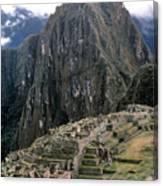 Peru: Machu Picchu Canvas Print