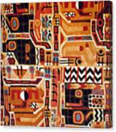 Peru: Tunic Fragment Canvas Print