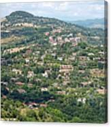 Perugia Countryside Canvas Print