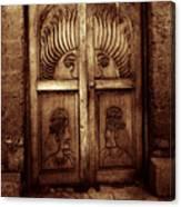 Peruvian Door Decor 11 Canvas Print