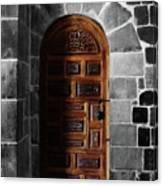 Peruvian Door Decor 13 Canvas Print