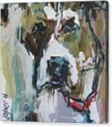Pet Commission Painting Canvas Print