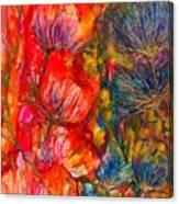 Petal Fiesta Canvas Print