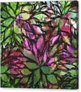 Petales - 44ah11 Canvas Print