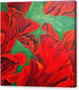 Petals Of Fire Canvas Print