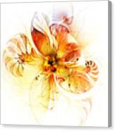 Petals Of Gold Canvas Print