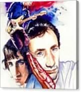 Pete Townshend Canvas Print