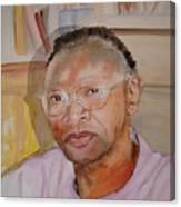 Peter Luwaminda Zambia Canvas Print