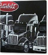 Peterbilt Trucks Canvas Print