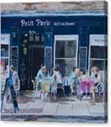 Petit Paris Canvas Print