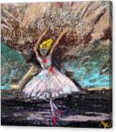 Petite Ballerina Canvas Print