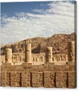 Petra Sky Canvas Print