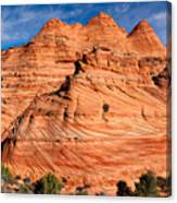Petrified Sand Dunes Canvas Print