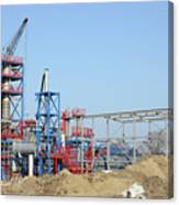 Petrochemical Plant Heavy Industry Construction Site by Goce Risteski
