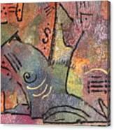 Petroglyph Quilt Canvas Print
