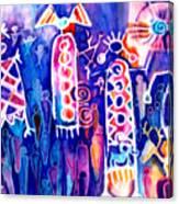 Petroglyph Two Canvas Print