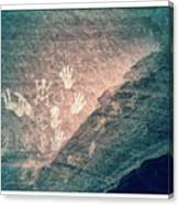 Petroglyphs  Canvas Print