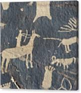 Petroglyphs, Utah Canvas Print
