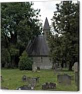 Pewsey Parish Council Cemetary Canvas Print