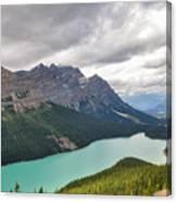 Peyto Lake - Banff National Park, Canada Canvas Print