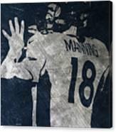 Peyton Manning Broncos 2 Canvas Print