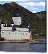 Pfalz Castle Canvas Print