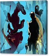 Phantasy Vision Canvas Print