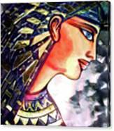 Pharoah Of Egypt Canvas Print