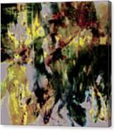 Pharrell Williams Paint Splats Canvas Print