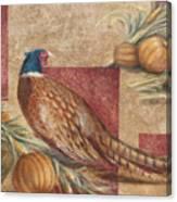 Pheasant I Canvas Print