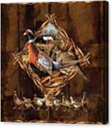 Pheasant Lodge Canvas Print