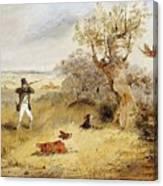 Pheasant Shooting Henry Thomas Alken Canvas Print