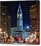 Philadelphia Downtown Canvas Print
