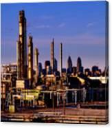 Philadelphia Oil Refinery  Canvas Print