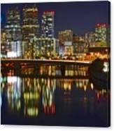 Philadelphia Pa River View Canvas Print