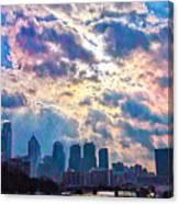 Philadelphia Sky Canvas Print