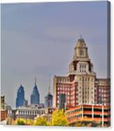 Philadelphia Skyline From Camden Waterfront Canvas Print