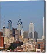 Philadelphia Standing Tall Canvas Print