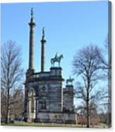 Philadelphia - The Smith Memorial Arch Canvas Print