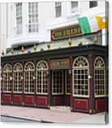 Philadelphia's Famous Irish Pub Canvas Print