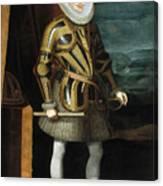 Philip IIi Canvas Print