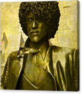 Philip Lynott Statue Canvas Print