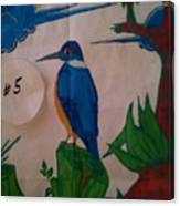 Philippine Kingfisher Painting Contest 6 Canvas Print
