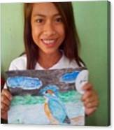 Philippine Kingfisher Painting Contest 7 Canvas Print