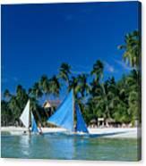 Philippines, Boracay Isla Canvas Print