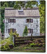 Philipsburg Manor House - Thru The Woods Canvas Print